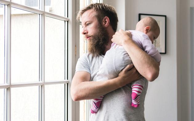 Vater Baby Papa