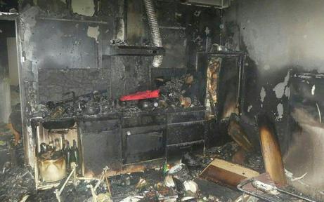 Rentnerin verbrannte hilflos in ihrer Wohnung