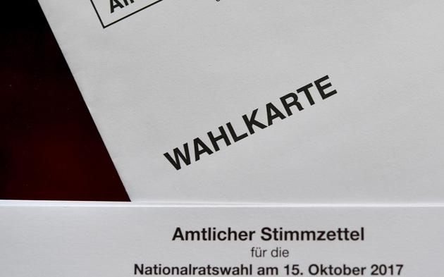 Wahlkarte Nationalratswahl