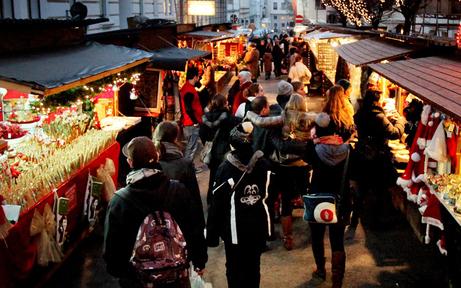 Spittelberg eröffnet die Weihnachtsmarkt-Saison
