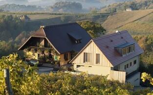 Moderne Weinarchitektur in der Südsteiermark