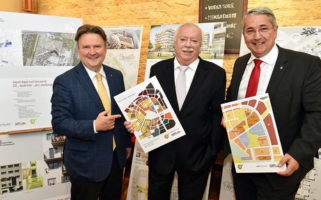 Fast 1.000 neue Wohnungen in der Seestadt