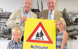 """""""Achtung Schulbeginn"""": Kampagne in Neustadt"""