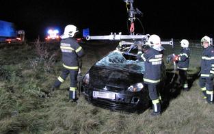 Frau irrt nach Unfall auf der A2 herum