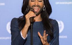 Conchita singt vor Ban Ki-moon