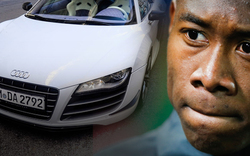 Alko-Unfall mit Alabas Bayern-Audi !