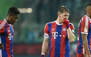 Bayern unterliegen Wolfsburg klar mit 1:4