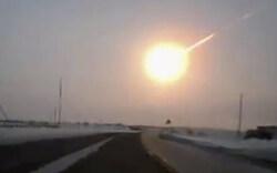 Meteorit schlägt in Russland ein: Alle Bilder