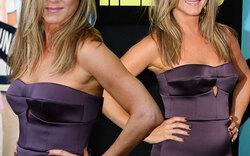 Aniston schürt bei Premiere wieder Baby-Gerüchte