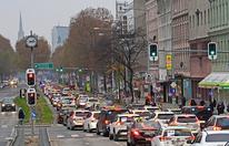 Demo: 3.000 Taxis legten Wien lahm