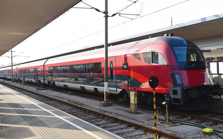 Westbahnhof wird zum Regionalbahnhof