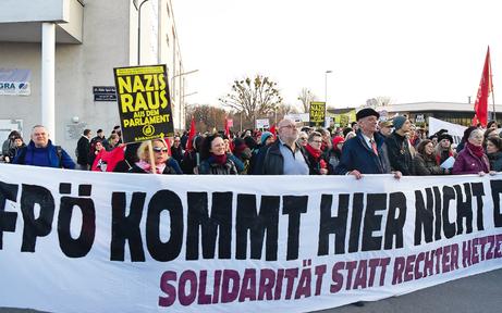 Die beiden Asyl-Demos kosteten 80.000 Euro