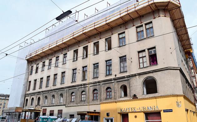 Abriss Radetzkystraße