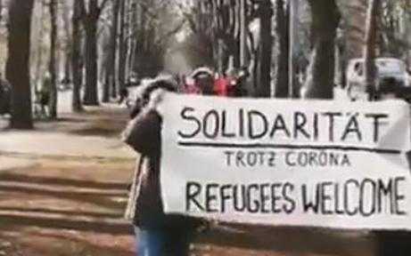 Illegale Asyldemo im Prater: Anzeigen