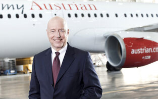 AUA 2017 mit neuem Passagierrekord