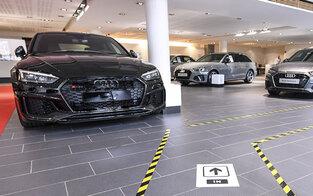 Bande klaute 26 Audis in Niederösterreich