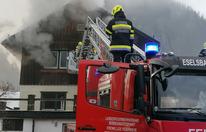 Frau stirbt bei Brand in Einfamilienhaus