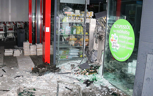 Bankomat-Sprenger versteckten weiteres Sprengstoff-Päckchen