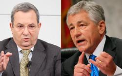 Barak triff neuen Pentagon-Chef Hagel