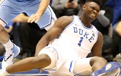 Basketball-Star verletzt sich bei Schuh-Unfall