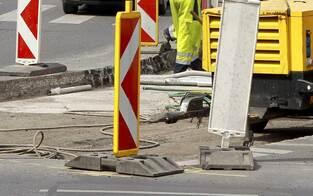 Baustelle: Hadikgasse wird neue Staufalle Nr. 1