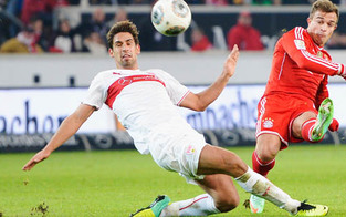 Bayern gewinnen knapp gegen Stuttgart
