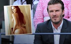 Spielerfrau mit Sex-Offert an Beckham