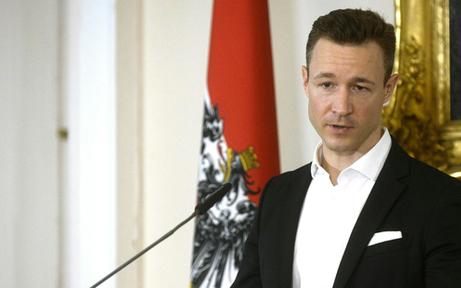 "Gernot Blümel ""sportlich"" unterwegs"