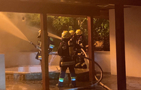 Elektrischer Ofen als Auslöser für Großbrand im Burgenland
