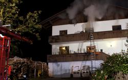 Umgefallene Lampe löste Hausbrand aus