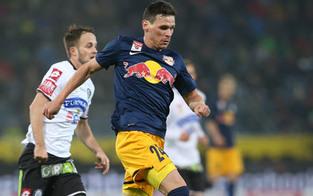 Salzburg zieht nach 2:1 gegen Sturm davon
