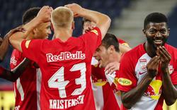 Salzburg gewinnt bei Torfestival 5:2 gegen Sturm
