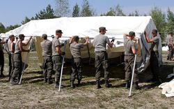 Bundesheer im Asyl-Einsatz