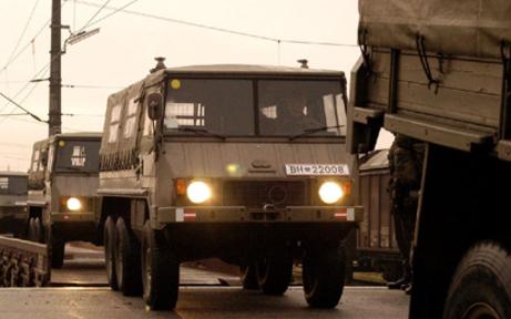 Crash mit Bundesheer-Lkw: Verletzte