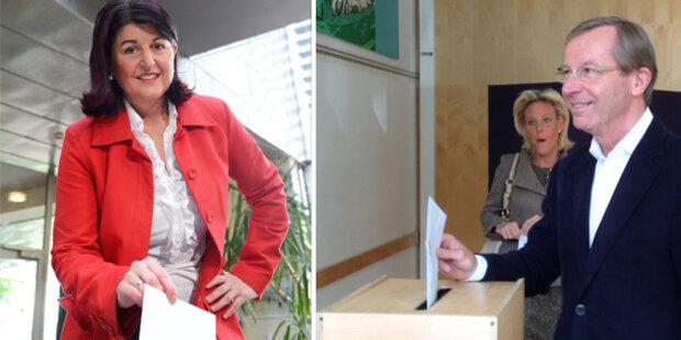 ÖVP auf Platz eins, Absturz der SPÖ