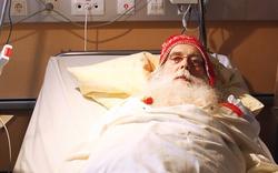 Santa Claus von Lkw überrollt