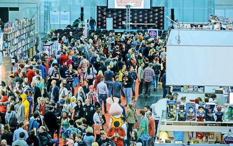 Star-Aufmarsch bei der Vienna Comic Con