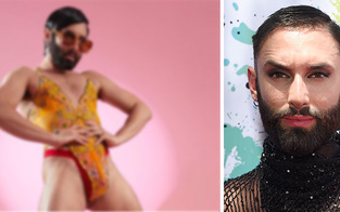 Conchita wirbt für Rihanna! Hautenger Body zeigt alles
