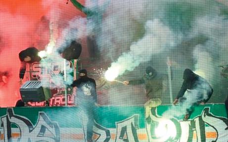 Derby: Verletzte und vier Festnahmen