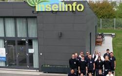 Info-Center auf der Donauinsel