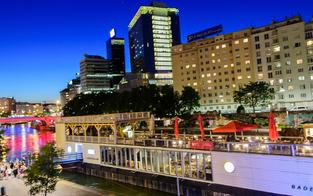 40 Wirte streiten um 6 Standorte am Donaukanal
