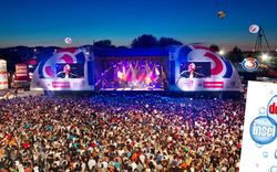 Donauinselfest 2014 mit ÖSTERREICH-Area