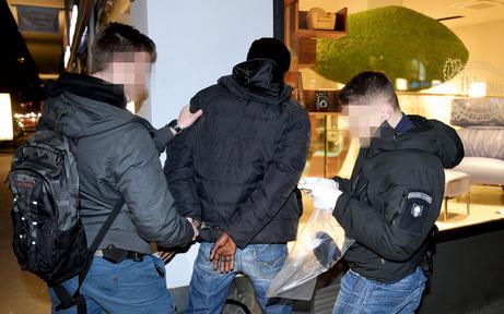 Polizei fasste zwei Heroinschmuggler