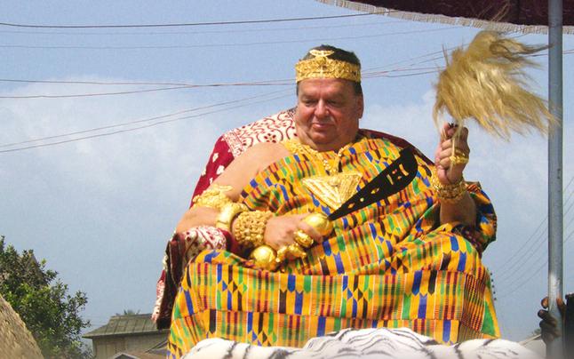 Ein Tiroler als König in Afrika