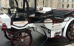 """Batterie statt Pferde: Erster """"E-Fiaker"""" in Wien unterwegs"""
