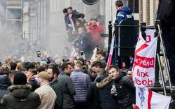 England-Hooligans schocken Amsterdam