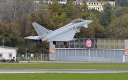 Pannen-Eurofighter zurück in Zeltweg
