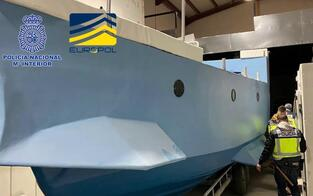 Drogen-U-Boot in Spanien beschlagnahmt