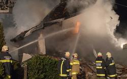 Haus in Oberösterreich explodiert