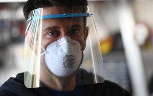 Schutzmasken aus privaten 3D-Druckern für Wien